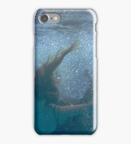 She Fell in the Water #2 iPhone Case/Skin