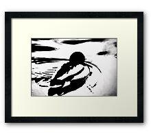 Abstract Mallard Framed Print