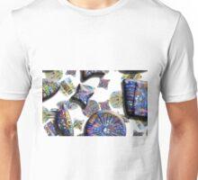 Diatom Cross Section (Print Version) Unisex T-Shirt