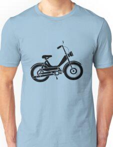 Moped bike cycle Fun geek funny nerd Unisex T-Shirt