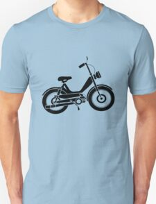 Moped bike cycle Fun geek funny nerd T-Shirt