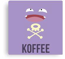 Koffing Koffee (Pokemon) Canvas Print