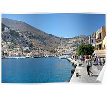 Gialos harbour Poster
