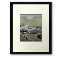 The Crash Framed Print