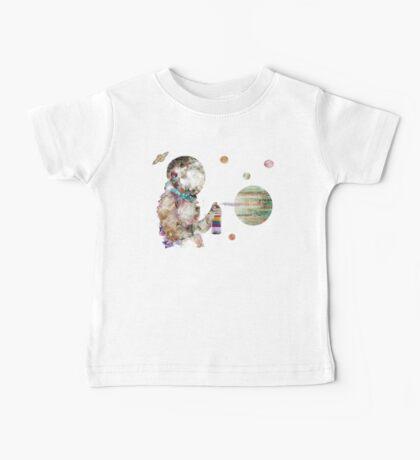 space graffiti Baby Tee