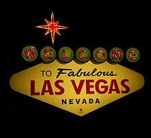 Welcome To Las Vegas by artisandelimage