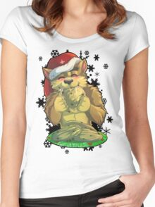 Cookies? Anyone? Women's Fitted Scoop T-Shirt