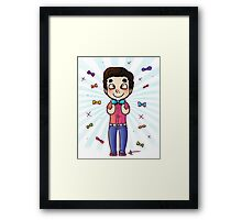 Bow Tie Day Framed Print