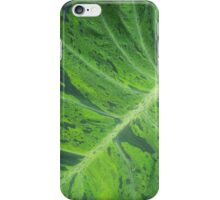 Bright Green Leafy-ness iPhone Case/Skin
