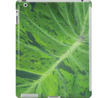 Bright Green Leafy-ness iPad Case/Skin