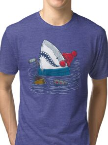 Great White North Shark Tri-blend T-Shirt