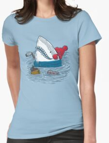 Great White North Shark Womens Fitted T-Shirt