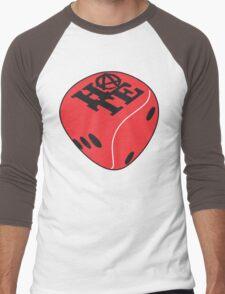Red Dice Men's Baseball ¾ T-Shirt