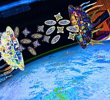 Diatoms Battling for Earth by GolemAura