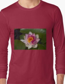 waterlily in the lake Long Sleeve T-Shirt