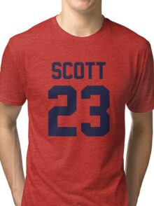 One Tree Hill - Nathan's Jersey Tri-blend T-Shirt