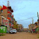 Street in Mwiki - Nairobi, KENYA by Atanas NASKO