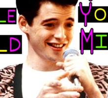 Ferris Tshirt Sticker