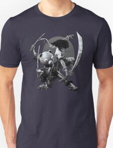 black 'n white samurai T-Shirt
