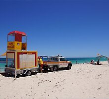 Surf rescue unit on stand by by georgieboy98