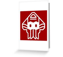AUTOSQUIDS Greeting Card