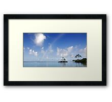 Aloha - A Slice Of Paradise.  Framed Print