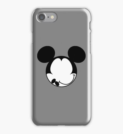 DISMAL MOUSE iPhone Case/Skin