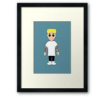 Justin Bieber Ktoon Framed Print