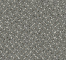 Grey Metal Diamond Plate Texture Pattern Background by allhistory