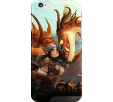 Hookfang and Snotlout iPhone Case/Skin