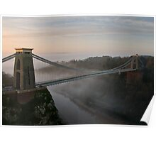 The Clifton Suspension Bridge Poster
