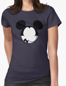 DISMAL MOUSE Womens Fitted T-Shirt