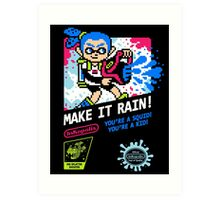 MAKE IT RAIN! Art Print