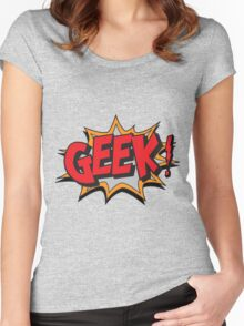 GEEK [UltraHD] Women's Fitted Scoop T-Shirt