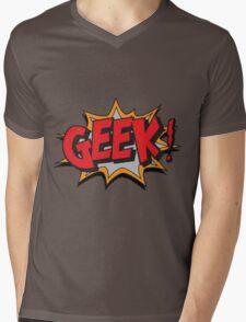 GEEK [UltraHD] Mens V-Neck T-Shirt