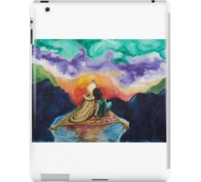 Aladdin and Jasmine Sunset iPad Case/Skin