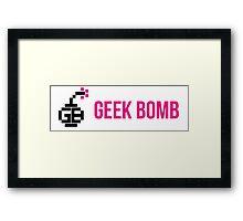 GEEK BOMB [HD] Framed Print