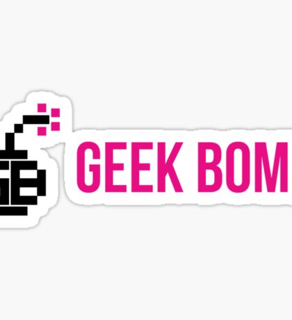 GEEK BOMB [HD] Sticker