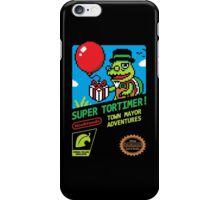 SUPER TORTIMER! iPhone Case/Skin