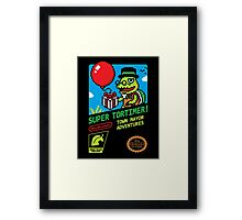 SUPER TORTIMER! Framed Print