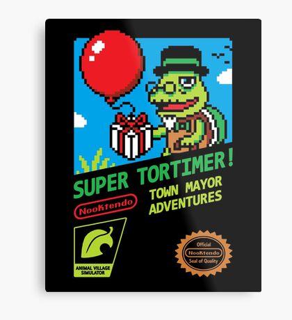 SUPER TORTIMER! Metal Print