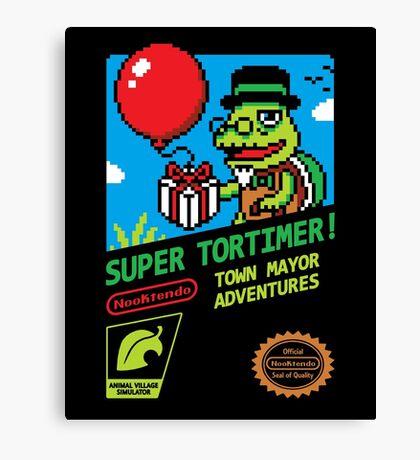 SUPER TORTIMER! Canvas Print