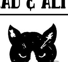 Wanted schrodingers cat geek funny nerd Sticker