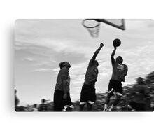 basketball motion 2 Canvas Print