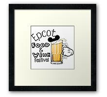 Epcot Food and Wine Festival Mickey Mouse Framed Print