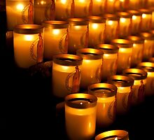 Notre Dame de Paris, Candles by Skye Hohmann