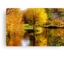 Autumn in Washington, New Hampshire Canvas Print