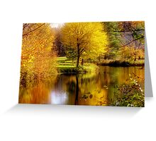 Autumn in Washington, New Hampshire Greeting Card