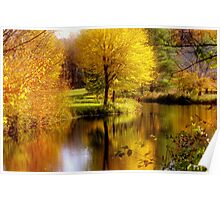 Autumn in Washington, New Hampshire Poster