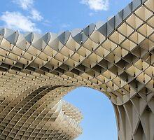 Seville - Metropol Parasol  by Andrea Mazzocchetti